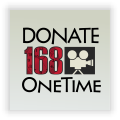 One Time Donation 168-DONATE